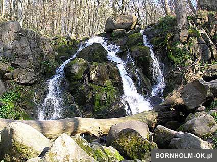 Wodospad Døndalefaldet